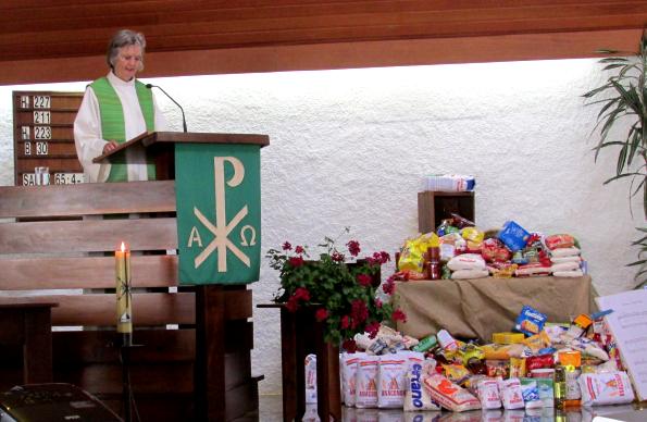 Kerkdienst door Foekje-Fleur Fink